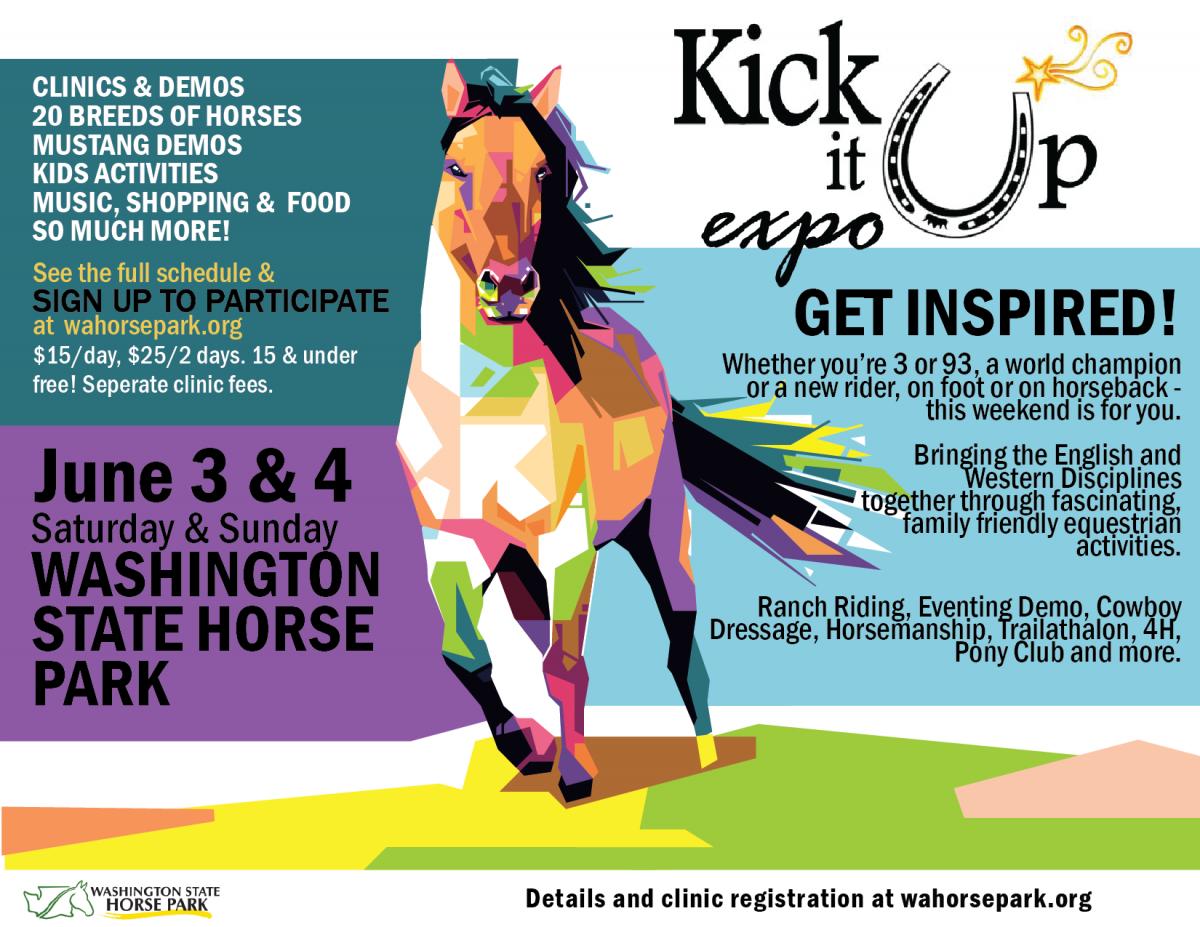 Kick it Up Expo @ Washington State Horse Park | Cle Elum | Washington | United States