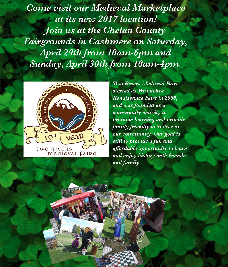 Two Rivers Medieval Faire @ Chelan County Expo Center | Cashmere | Washington | United States