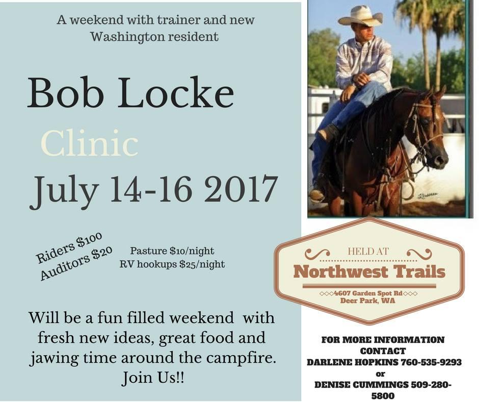 Bob Locke Clinic @ Northwest Trails | Deer Park | Washington | United States