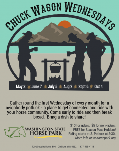 Chuck Wagon Wednesdays @ Washington State Horse Park | Cle Elum | Washington | United States