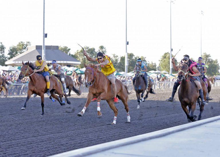 Indian Relay Racing @ Emerald Downs | Auburn | Washington | United States
