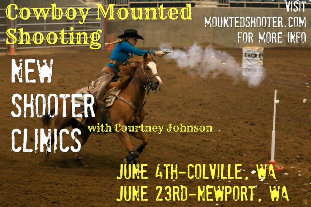 Mounted Shooting Clinic @ Mountain House Stables | Colville | Washington | United States