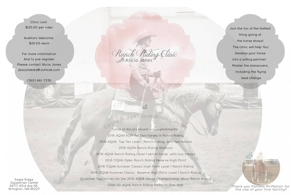 Ranch Riding Clinic @ Eagle Ridge Equestrian Center | Arlington | Washington | United States