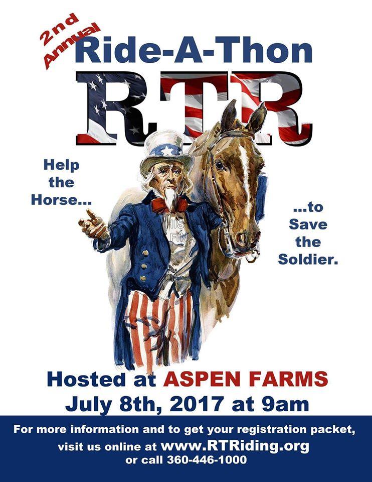 2nd Annual Ride-a-Thon @ Aspen Farms | Yelm | Washington | United States