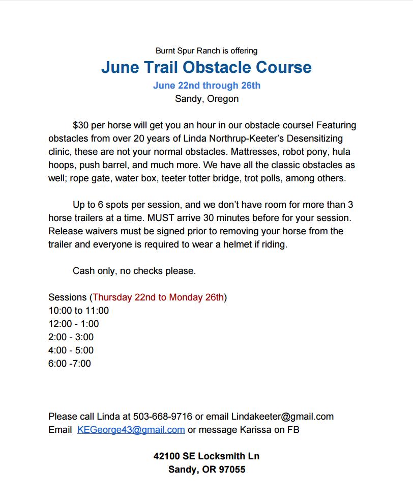 June Trail