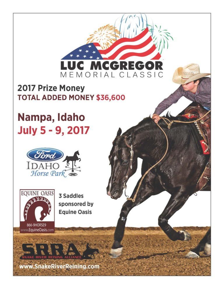 Luc McGregor Memorial Classic @ Ford Idaho Horse Park | Nampa | Idaho | United States