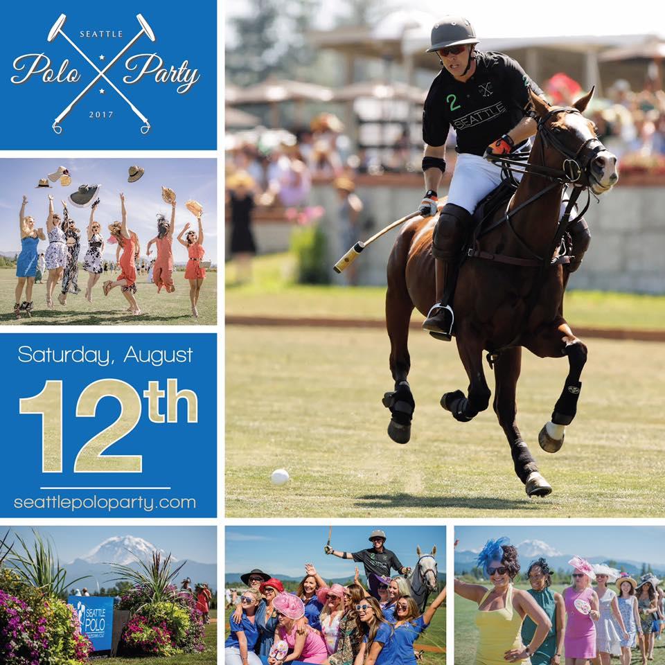 Seattle Polo Party @ Seattle Polo & Equestrian Club   Enumclaw   Washington   United States