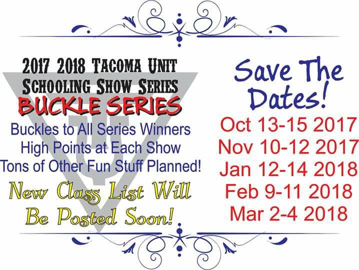 Tacoma Unit Schooling Show Series @ Tacoma Unit 1 Horseman's Arena | Spanaway | Washington | United States