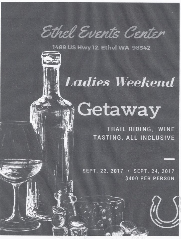 Ladies Weekend Getaway @ Ethel Events Center | Toledo | Washington | United States