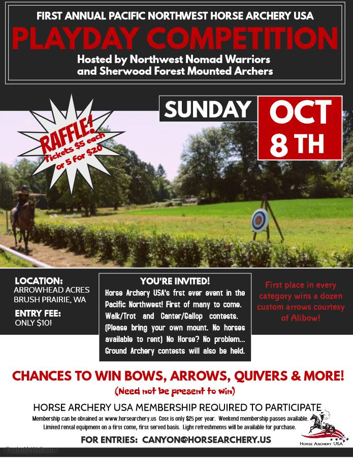 Archery Playday Competition @ Arrowhead Acres | Brush Prairie | Washington | United States