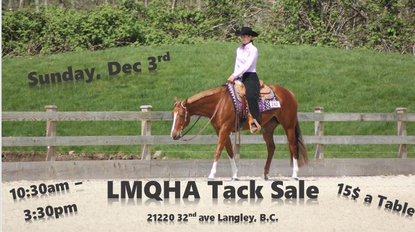 Lmqha Tack Sale Fundraiser @ Langley | British Columbia | Canada