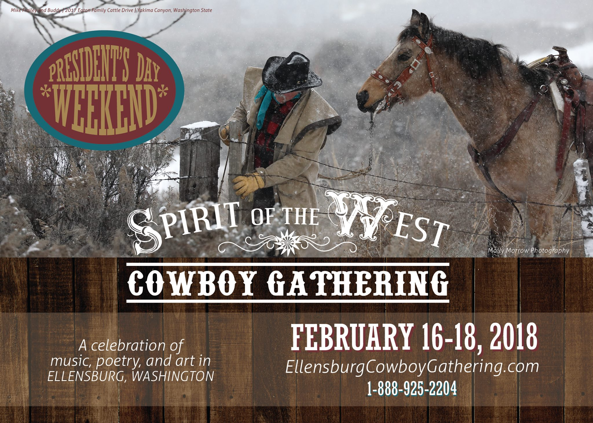 Spirit of the West Cowboy Gathering @ Ellensburg | Washington | United States