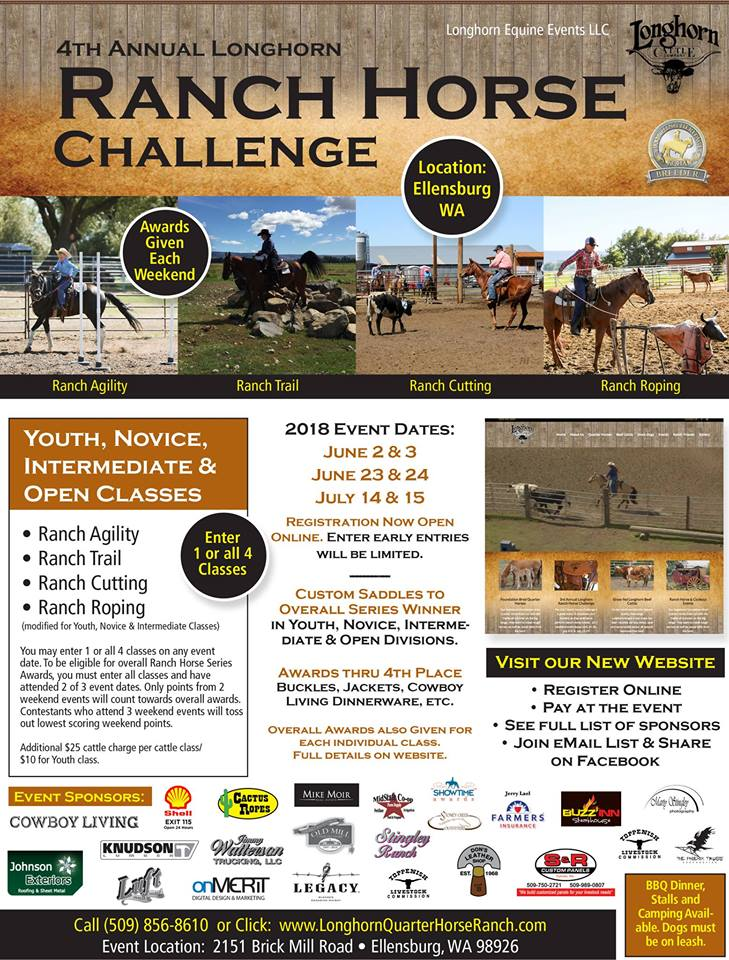 4th Annual Longhorn Ranch Horse Challenge @ Ellensburg | Washington | United States