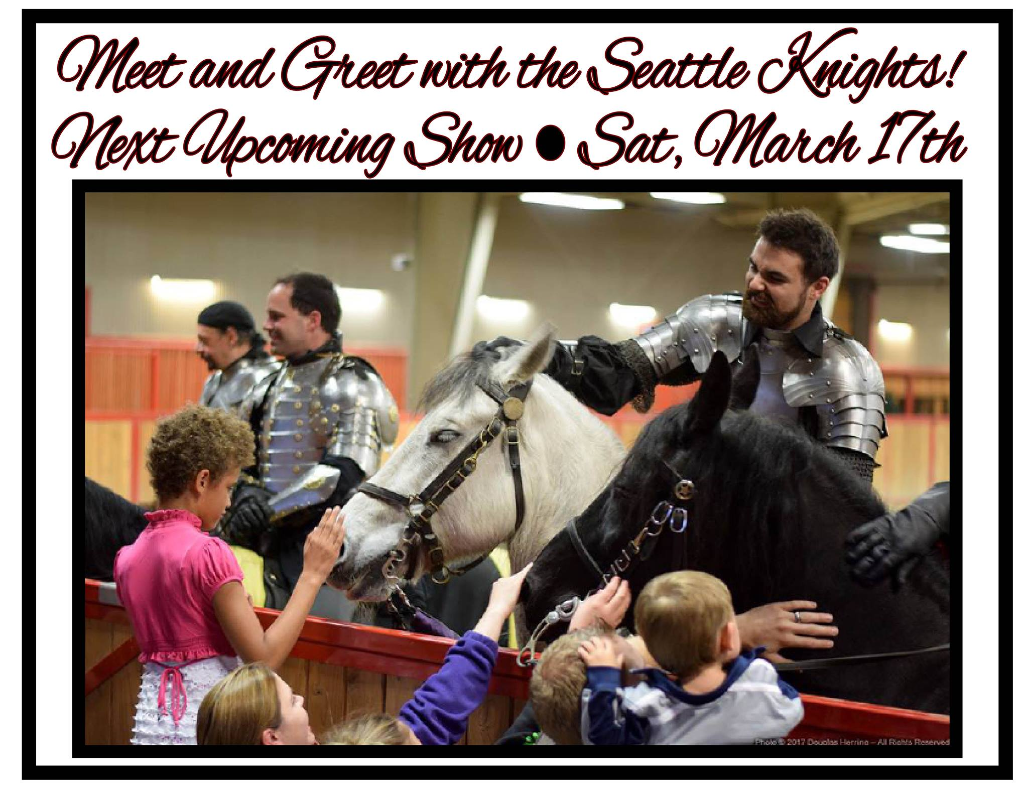Meet and Greet with the Seattle Knights @  The Restaurant At Rhodes River Ranch | Arlington | Washington | United States