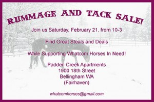 Tack and Rummage Sale @ Padden Creek Apartments, Community Room | Bellingham | Washington | United States