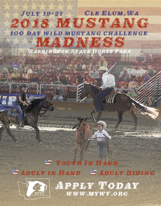 100 Day  Wild Mustang Challenge @ Washington State Horse Park | Cle Elum | Washington | United States