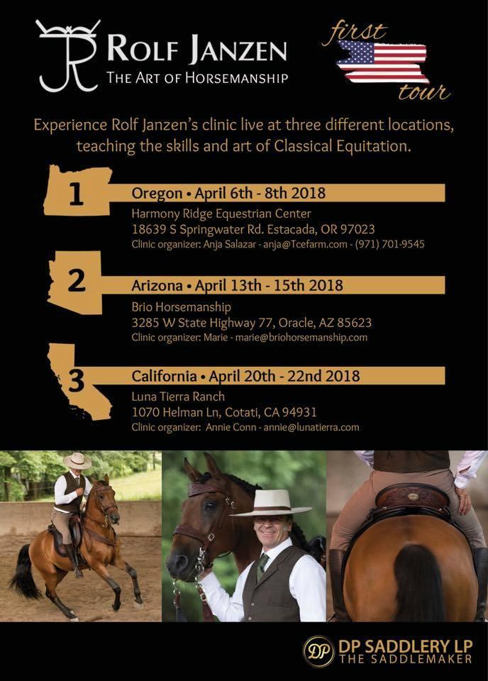 Rolf Janzen Dressage Clinic @ Harmony Ridge Equestrian Center | Estacada | Oregon | United States