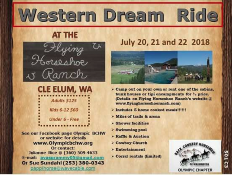 Western Dream Ride @ Flying Horseshoe Guest Ranch | Cle Elum | Washington | United States
