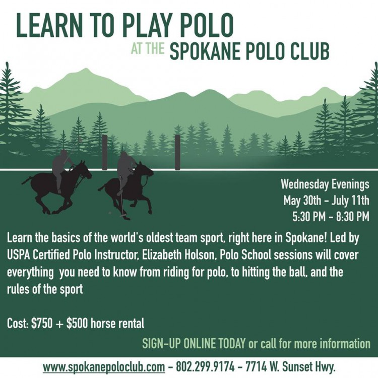 Polo School @ Spokane Polo Club | Spokane | Washington | United States