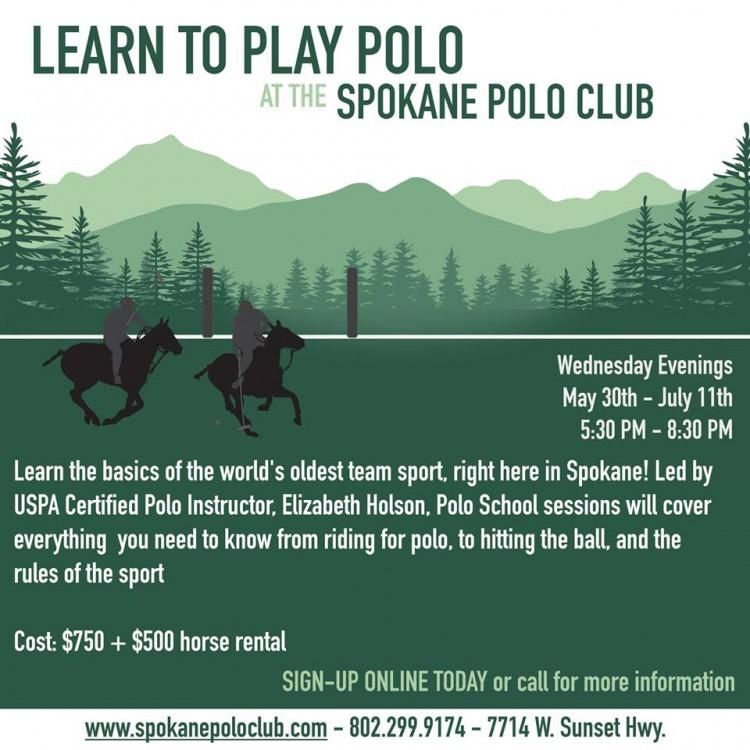 Polo School @ Spokane Polo Club | Spokane | Washington | United States
