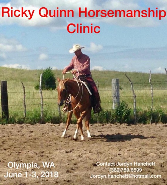 Ricky Quinn Spring Clinic @ pin 	 Timepiece Arabians | Olympia | Washington | United States