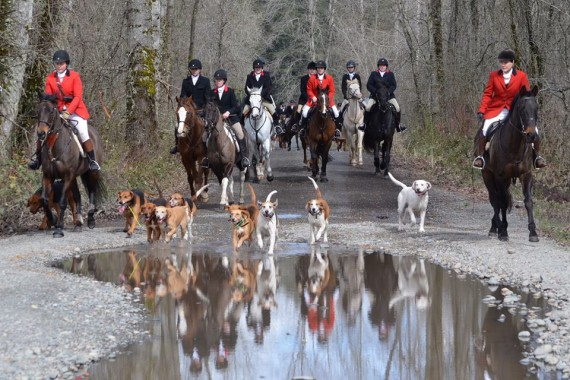 Spring Hunter Pace @  Woodbrook Hunt Club | Lakewood | Washington | United States