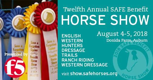 SAFE Benefit Horse Show @ Donida Farm Equestrian Center | Auburn | Washington | United States