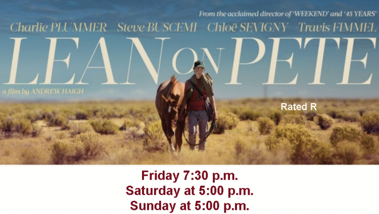 Lean On Pete - Movie @ Concrete Theatre | Concrete | Washington | United States