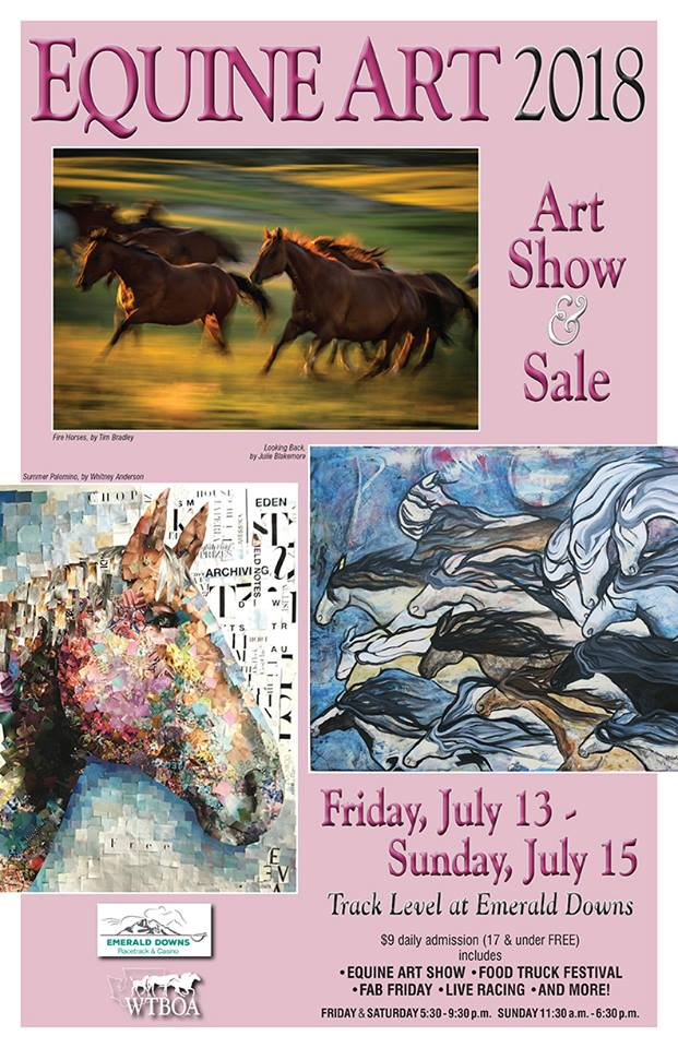 Equine Art Show @ Emerald Downs | Auburn | Washington | United States