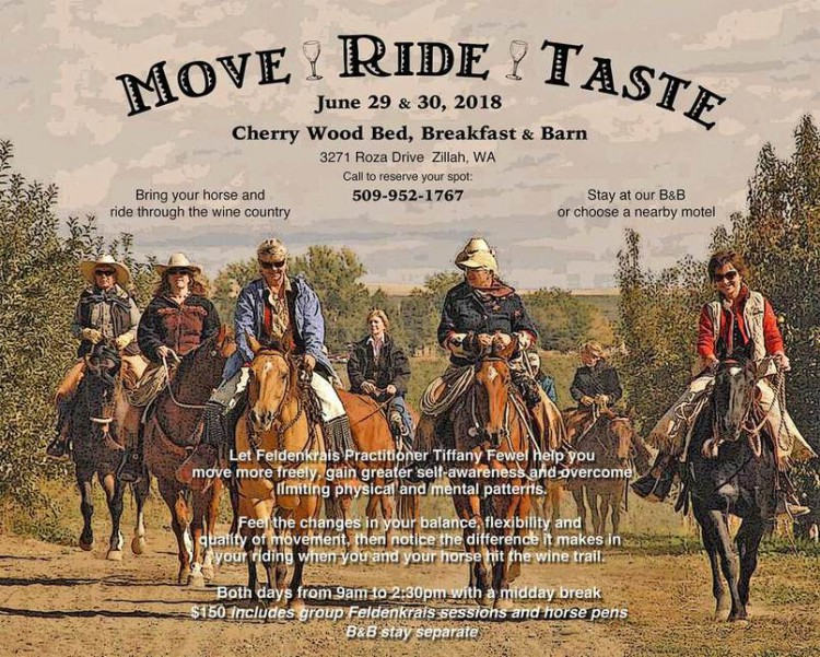 Move - Ride - Taste @ Cherry Wood Bed, Breakfast & Barn | Zillah | Washington | United States