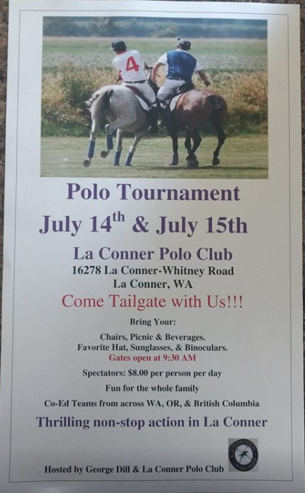 George Dill Polo Tournament @ La Conner Polo Club | La Conner | Washington | United States