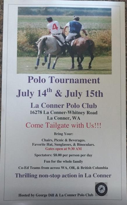 George Dill Polo Tournament @ La Conner Polo Club | La Conner | Washington | United States