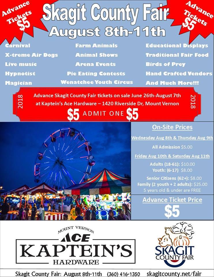 Skagit County Fair @ Skagit County Fair Grounds | Mount Vernon | Washington | United States
