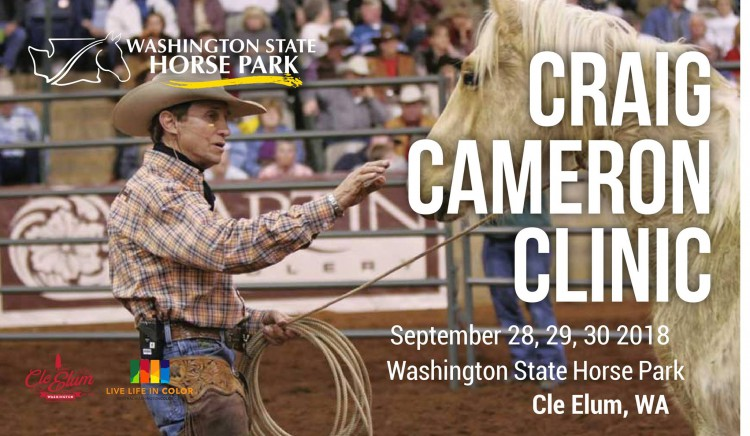 Craig Cameron Clinic @ Washington State Horse Park | Cle Elum | Washington | United States