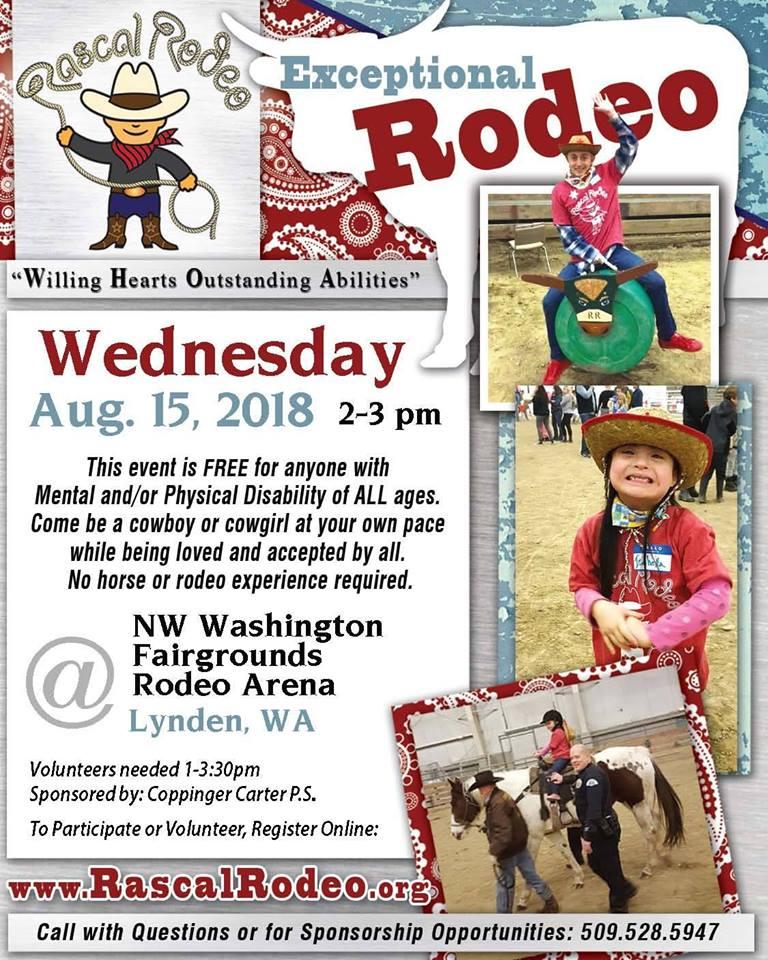 Rascal Rodeo @ NW Washington Fairgrounds | Lynden | Washington | United States
