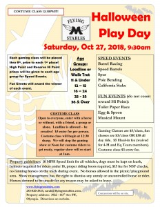 Halloween Play day @ Flying M Stables | Olympia | Washington | United States