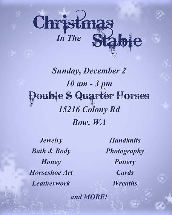 Christmas in the Stable @ Double S Quarter Horses | Bow | Washington | United States