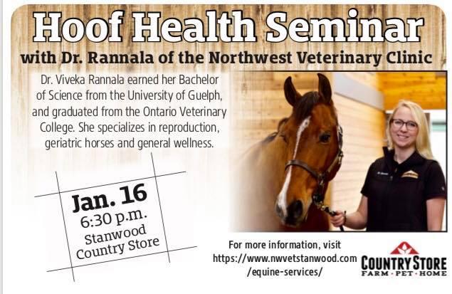 Hoof Health Seminar @ Country Store - Stanwood | Stanwood | Washington | United States