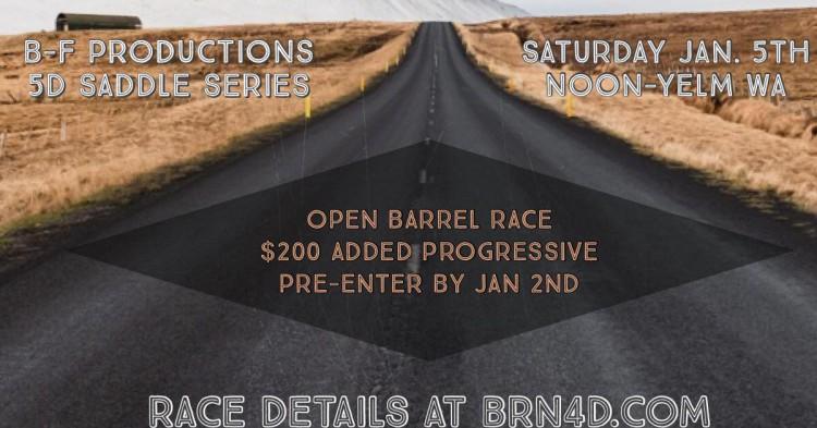 Open Barrel Race @ Yelm | Washington | United States