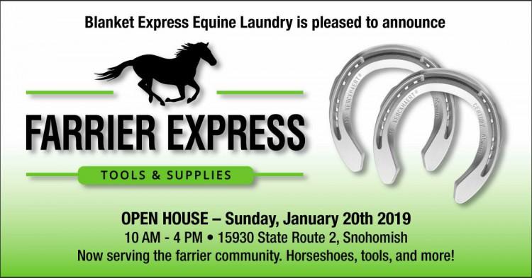 Farrier Express Open House @ Blanket Express | Snohomish | Washington | United States