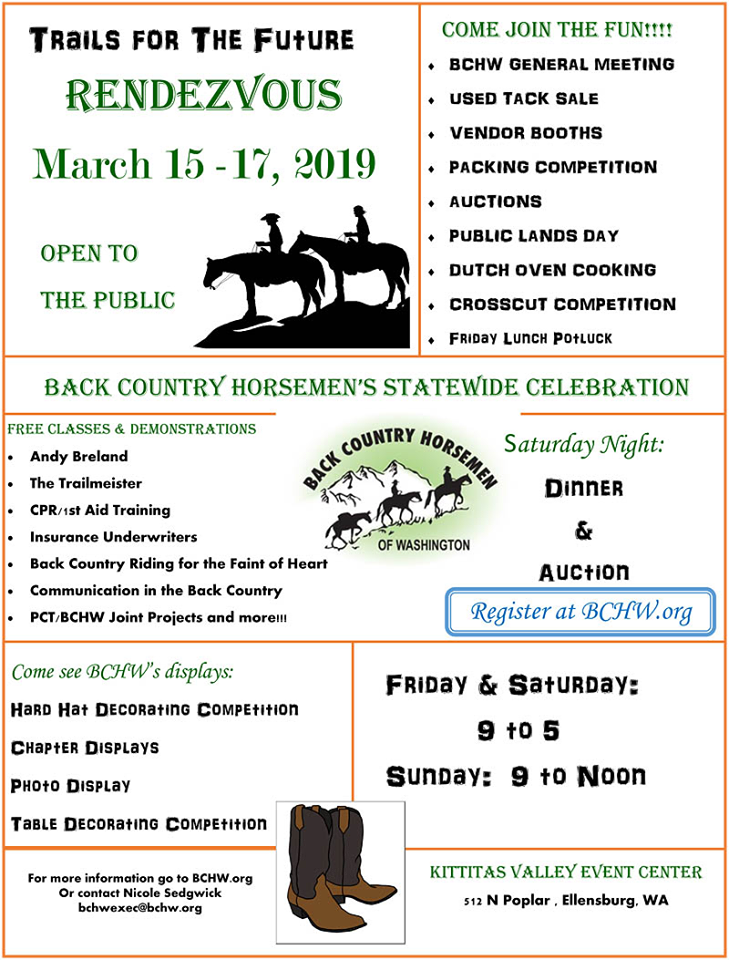BCHW Rendezvous @ Kittitas Valley Event Center | Ellensburg | Washington | United States