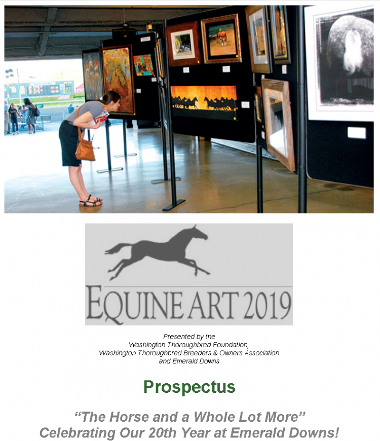 Equine Art 2019 - Emerald Downs @ Emerald Downs | Auburn | Washington | United States