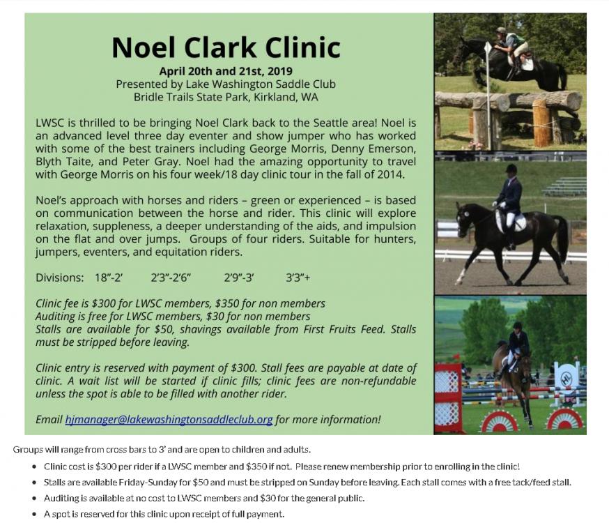 Noel Clark Clinic @ Bridle Trails State Park | Kirkland | Washington | United States