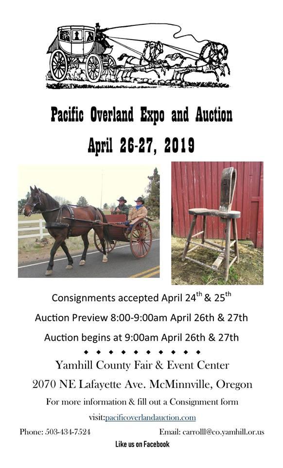 Pacific Overland Auction @ Pacific Overland Auction | McMinnville | Oregon | United States