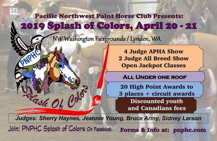 Splash of Colors All Breed Show @ The Northwest Washington Fair and Event Center | Lynden | Washington | United States