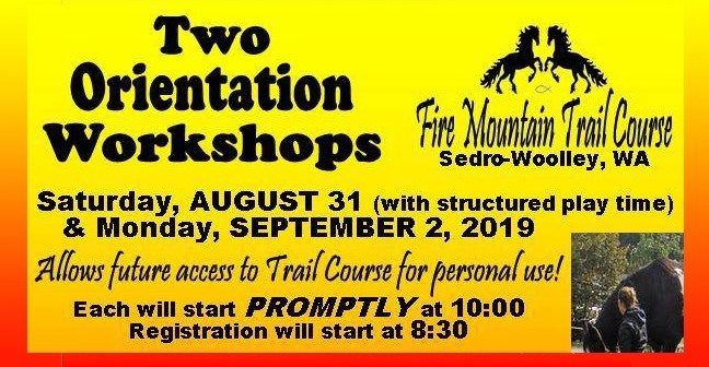 Fire Mountain Trail Course Orientation Workshops