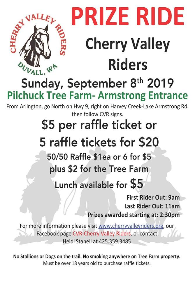Prize Ride @ Pilchuck Tree Farm - Armstrong Entrance | Washington | United States