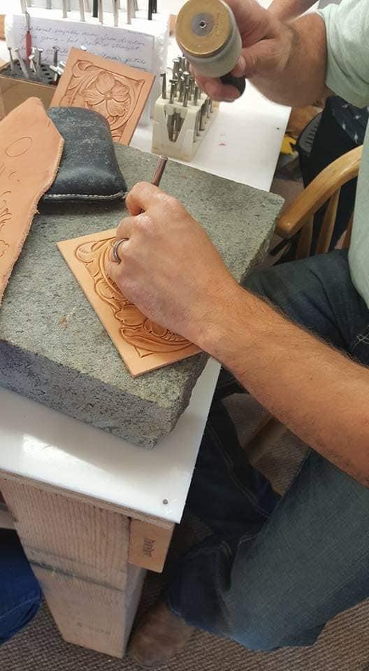 JOE MELING TOOLING CLASS @ Julie Baugher Leather Design | Ellensburg | Washington | United States
