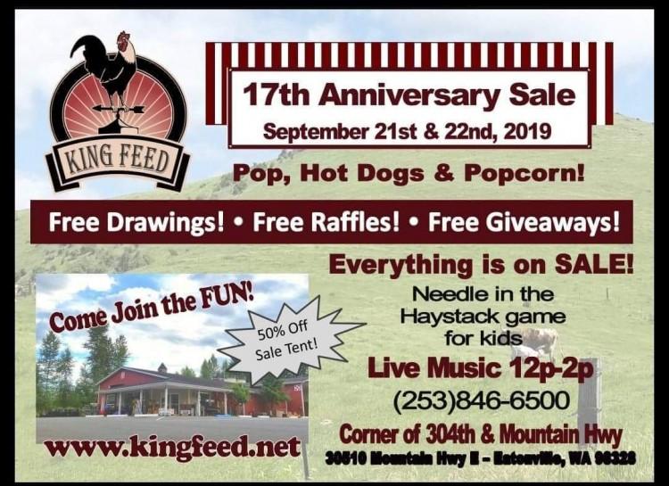 King Feed Sale @ King Feed