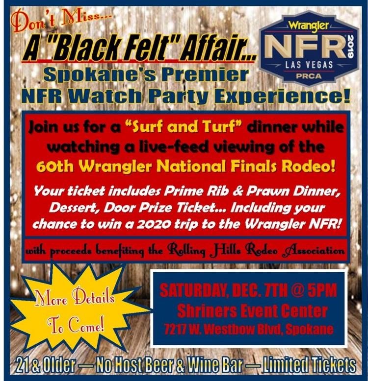 "A ""Black Felt"" Affair @ Shriners Event Center   Spokane   Washington   United States"
